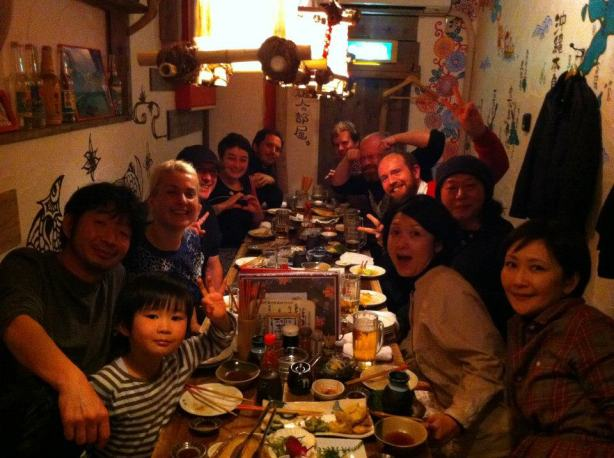 sunday dinner japan